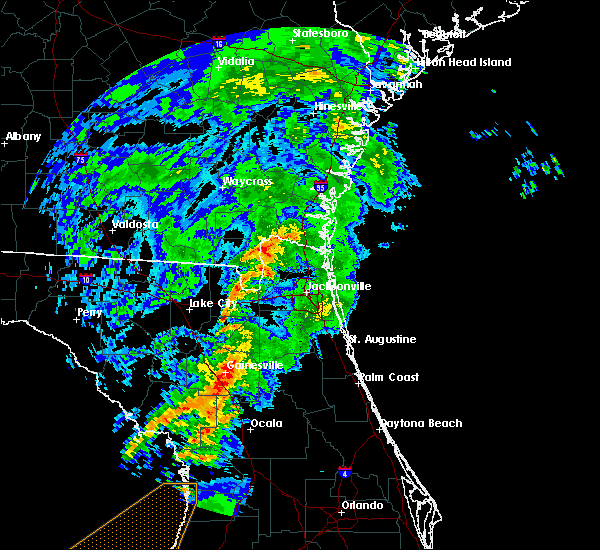 Radar Image for Severe Thunderstorms near Gainesville, FL at 12/14/2019 3:46 AM EST