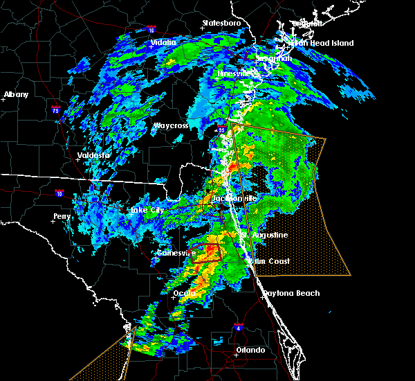 Radar Image for Severe Thunderstorms near Flagler Estates, FL at 12/14/2019 4:43 AM EST