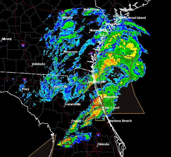 Radar Image for Severe Thunderstorms near Seville, FL at 12/14/2019 5:11 AM EST