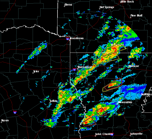 Radar Image for Severe Thunderstorms near Strong, AR at 12/16/2019 11:52 AM CST