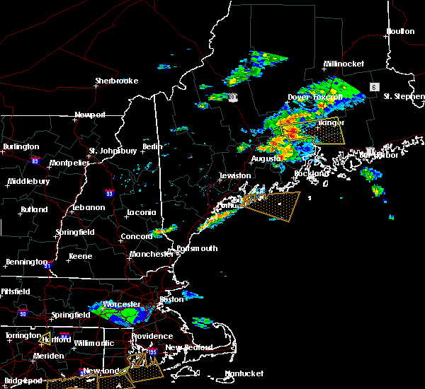 Radar Image for Severe Thunderstorms near Orono, ME at 6/23/2015 8:51 PM EDT