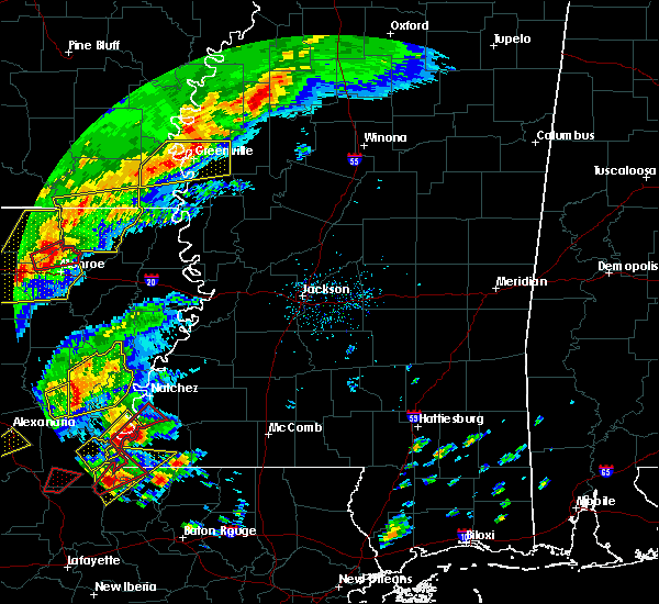 Radar Image for Severe Thunderstorms near Metcalfe, MS at 12/16/2019 1:49 PM CST