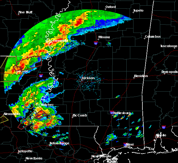 Radar Image for Severe Thunderstorms near Mer Rouge, LA at 12/16/2019 2:08 PM CST