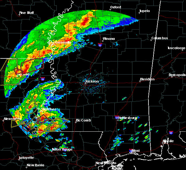 Radar Image for Severe Thunderstorms near Mer Rouge, LA at 12/16/2019 2:17 PM CST