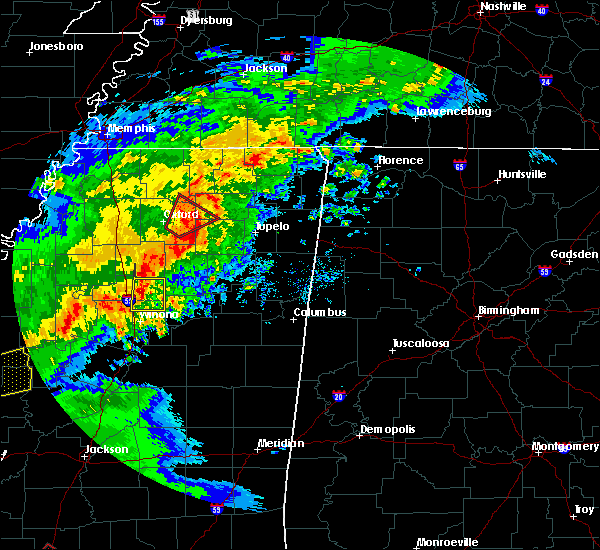 Radar Image for Severe Thunderstorms near Ecru, MS at 12/16/2019 3:20 PM CST