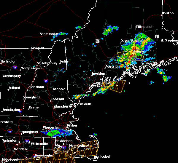 Radar Image for Severe Thunderstorms near Orono, ME at 6/23/2015 9:18 PM EDT