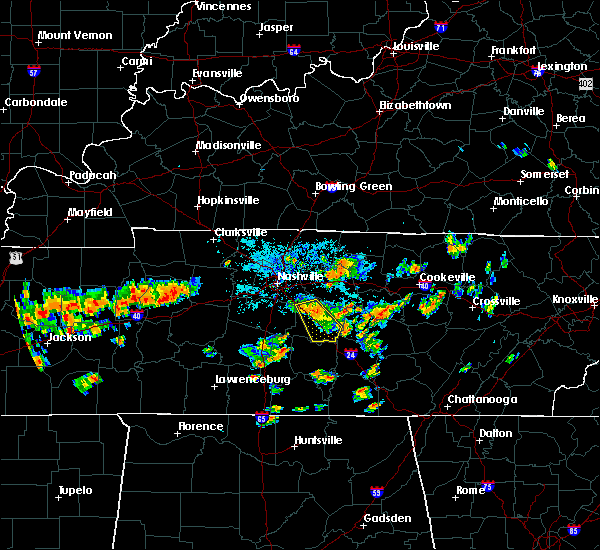 Radar Image for Severe Thunderstorms near Walterhill, TN at 6/23/2015 8:20 PM CDT