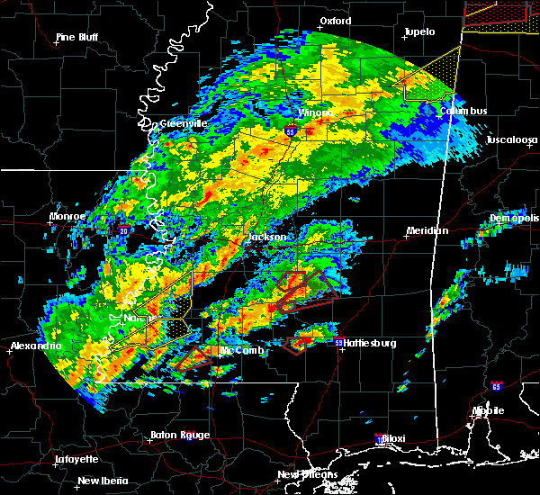 Radar Image for Severe Thunderstorms near Taylorsville, MS at 12/16/2019 5:06 PM CST