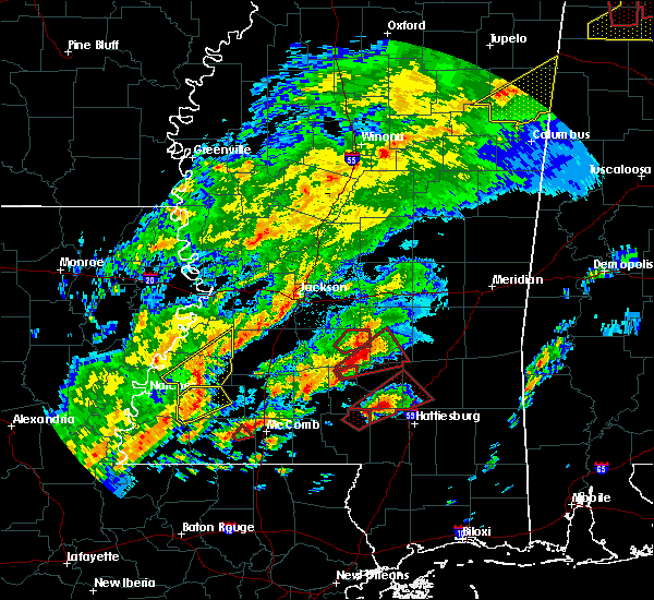 Radar Image for Severe Thunderstorms near Taylorsville, MS at 12/16/2019 5:15 PM CST