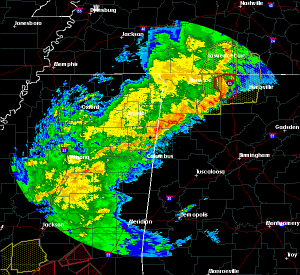 Radar Image for Severe Thunderstorms near Town Creek, AL at 12/16/2019 5:39 PM CST