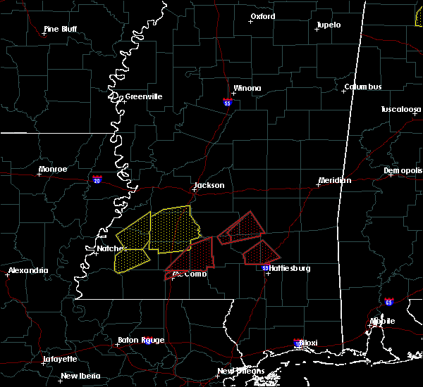 Radar Image for Severe Thunderstorms near Soso, MS at 12/16/2019 5:44 PM CST