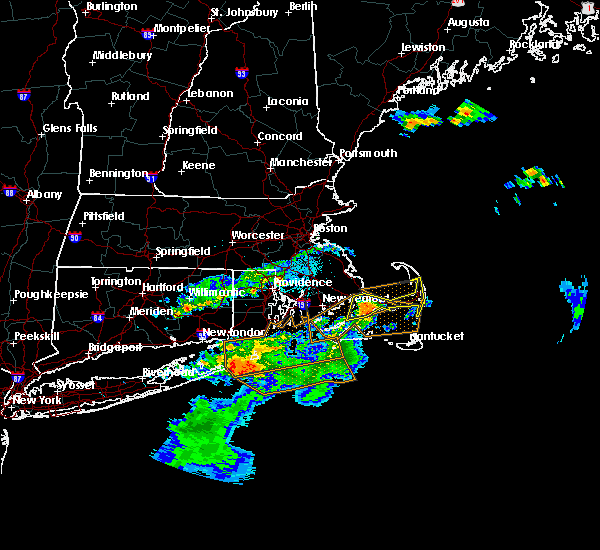 Hail Map For South Yarmouth, MA