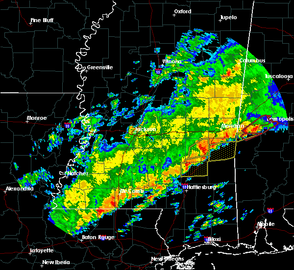 Radar Image for Severe Thunderstorms near Soso, MS at 12/16/2019 7:57 PM CST