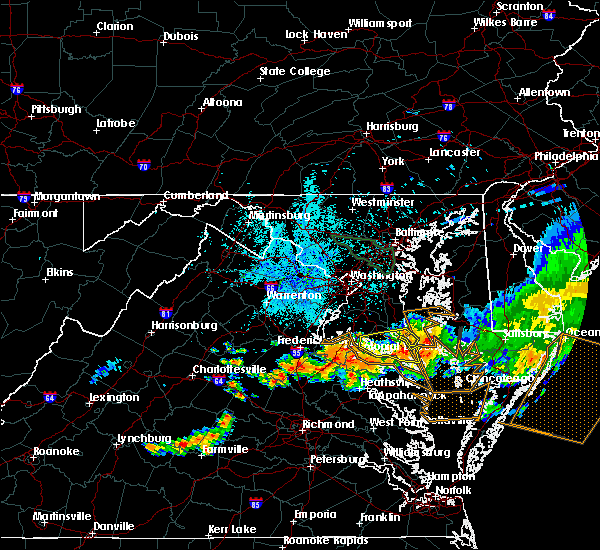 Radar Image for Severe Thunderstorms near St. Leonard, MD at 6/23/2015 10:07 PM EDT