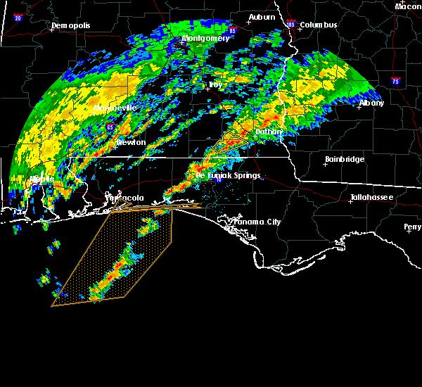 Radar Image for Severe Thunderstorms near Destin, FL at 12/17/2019 5:01 AM CST