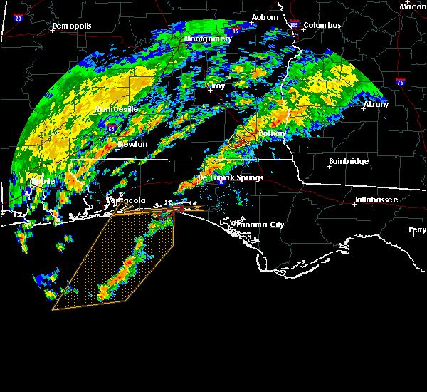 Radar Image for Severe Thunderstorms near Destin, FL at 12/17/2019 5:12 AM CST