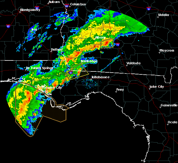 Radar Image for Severe Thunderstorms near Quincy, FL at 12/17/2019 10:57 AM EST