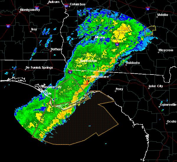 Radar Image for Severe Thunderstorms near Carrabelle, FL at 12/17/2019 12:58 PM EST