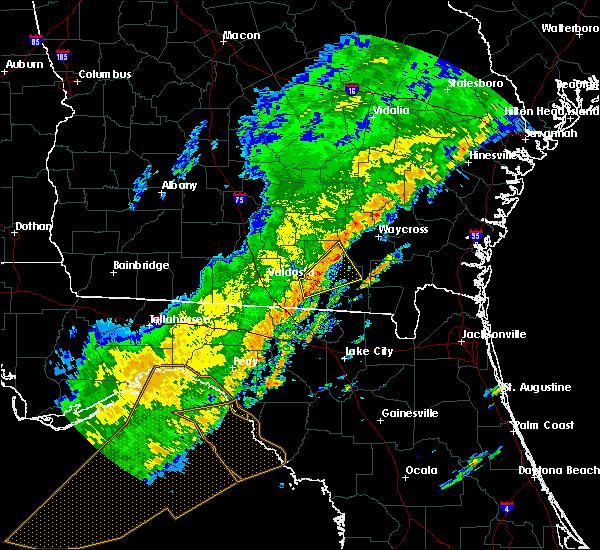 Radar Image for Severe Thunderstorms near Homerville, GA at 12/17/2019 2:39 PM EST