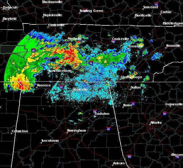 Radar Image for Severe Thunderstorms near Shelbyville, TN at 6/23/2015 11:12 PM CDT