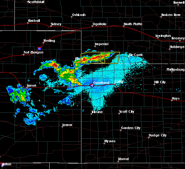 Radar Image for Severe Thunderstorms near Max, NE at 6/23/2015 11:27 PM CDT