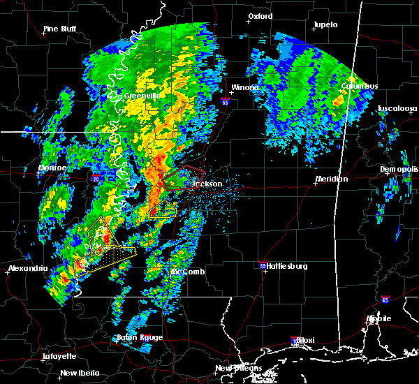 Radar Image for Severe Thunderstorms near Ridgeland, MS at 12/29/2019 2:54 PM CST