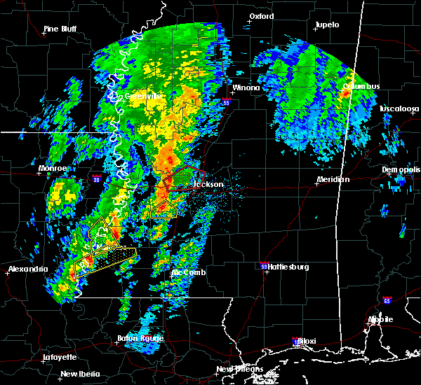 Radar Image for Severe Thunderstorms near Ridgeland, MS at 12/29/2019 3:00 PM CST