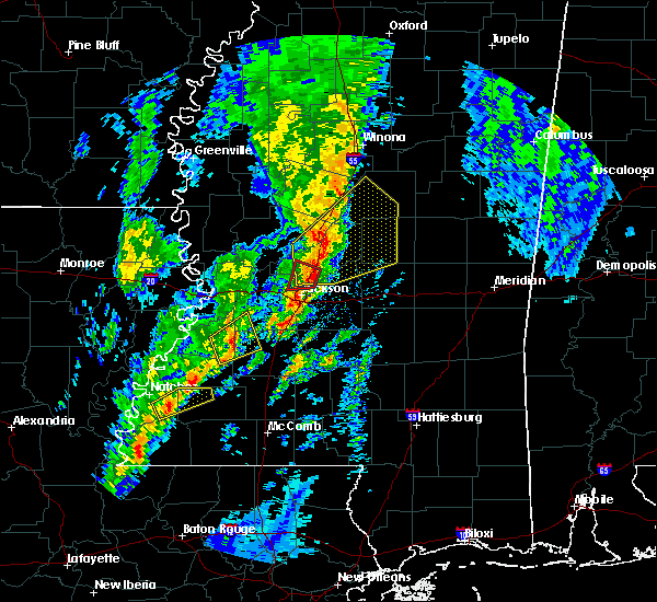 Radar Image for Severe Thunderstorms near Ridgeland, MS at 12/29/2019 3:29 PM CST