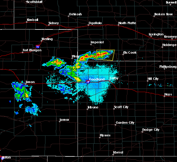 Radar Image for Severe Thunderstorms near Max, NE at 6/23/2015 11:50 PM CDT