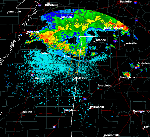 Radar Image for Severe Thunderstorms near Tremont, MS at 6/24/2015 12:05 AM CDT