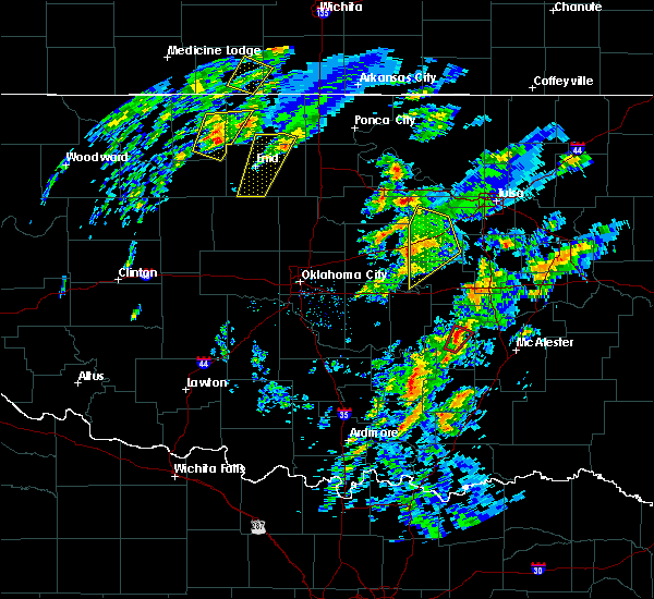 Radar Image for Severe Thunderstorms near Lamar, OK at 1/10/2020 10:54 AM CST