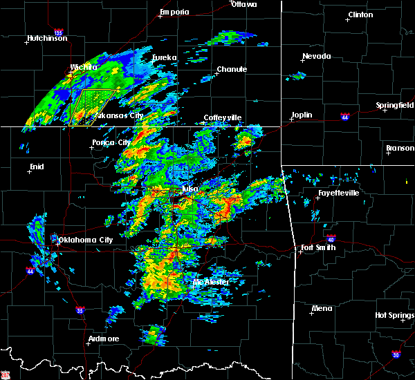 Radar Image for Severe Thunderstorms near Leach, OK at 1/10/2020 11:30 AM CST