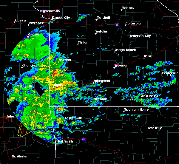 Radar Image for Severe Thunderstorms near Irwin, MO at 1/10/2020 1:07 PM CST