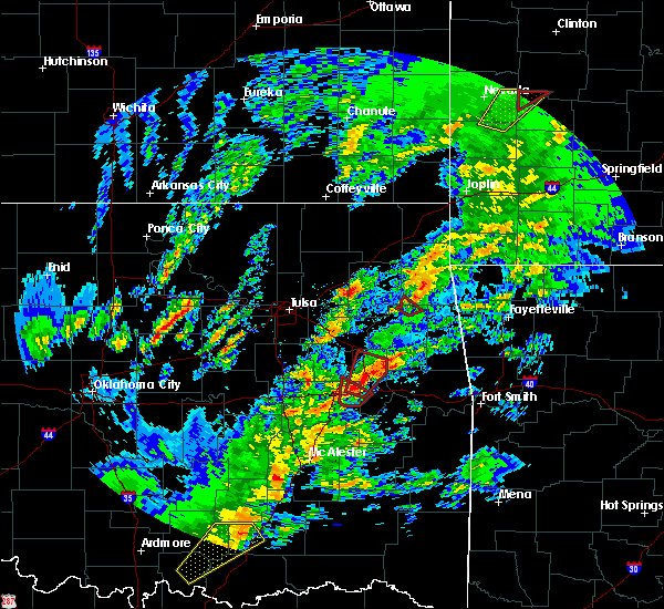 Radar Image for Severe Thunderstorms near Leach, OK at 1/10/2020 2:12 PM CST