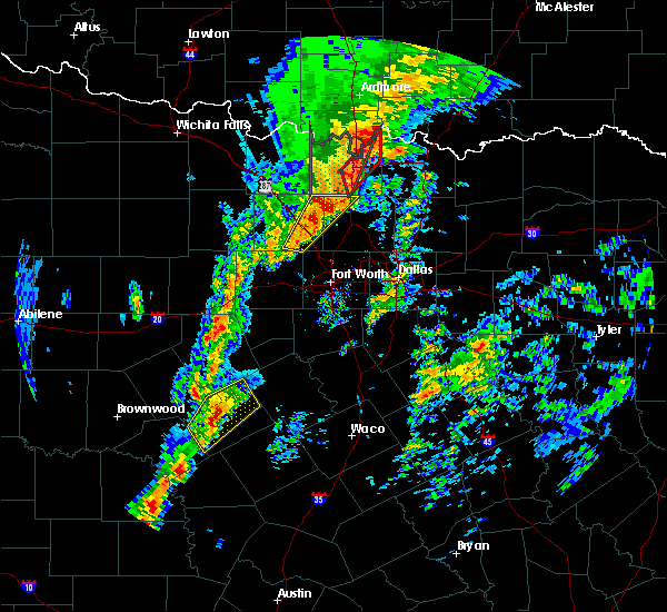 Radar Image for Severe Thunderstorms near Pecan Acres, TX at 1/10/2020 3:58 PM CST
