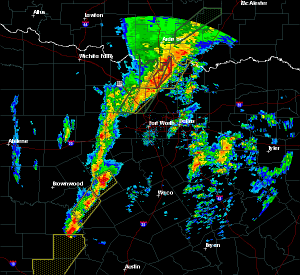 Radar Image for Severe Thunderstorms near Preston, TX at 1/10/2020 4:14 PM CST