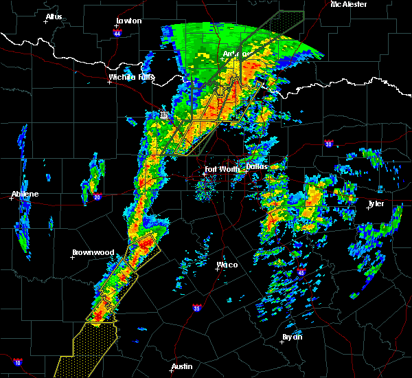 Radar Image for Severe Thunderstorms near Pecan Acres, TX at 1/10/2020 4:22 PM CST