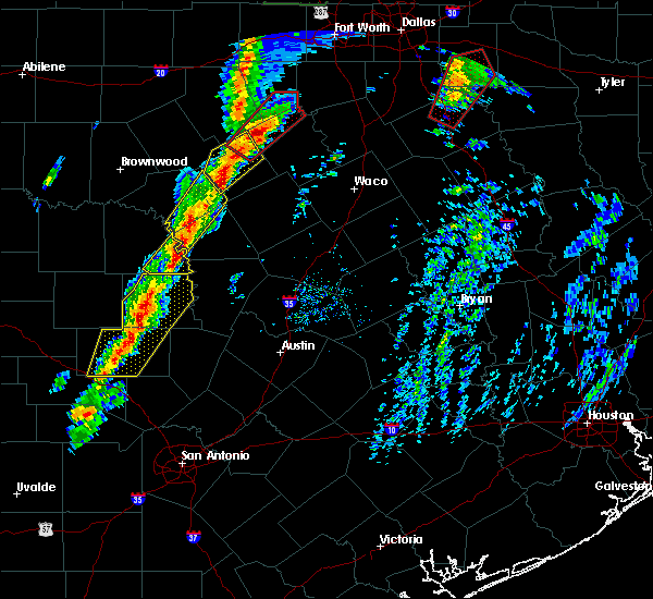 Radar Image for Severe Thunderstorms near Kingsland, TX at 1/10/2020 4:40 PM CST
