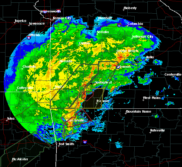 Radar Image for Severe Thunderstorms near McCord Bend, MO at 1/10/2020 5:10 PM CST