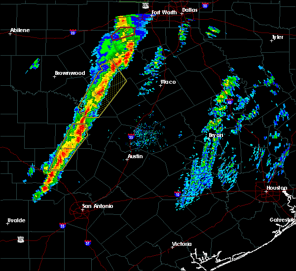 Radar Image for Severe Thunderstorms near Granite Shoals, TX at 1/10/2020 5:10 PM CST