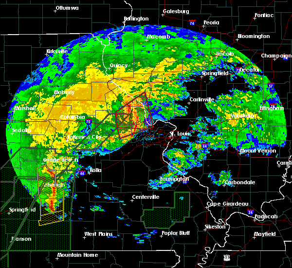 Radar Image for Severe Thunderstorms near Troy, MO at 1/10/2020 7:04 PM CST