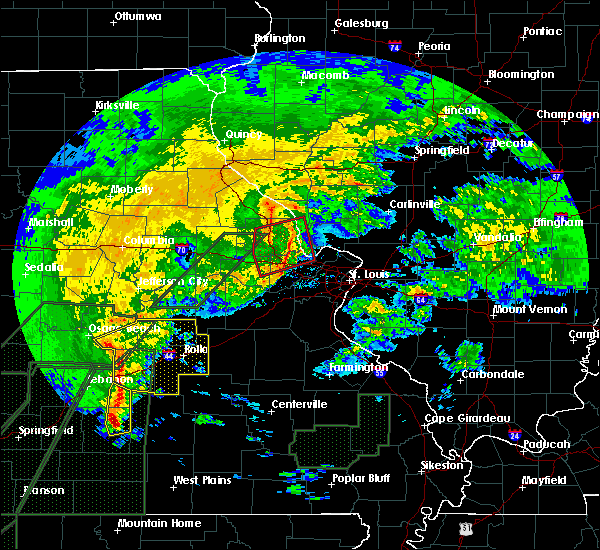 Radar Image for Severe Thunderstorms near Grafton, IL at 1/10/2020 7:12 PM CST