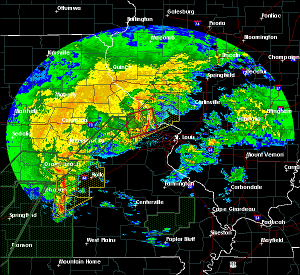 Radar Image for Severe Thunderstorms near Troy, MO at 1/10/2020 7:14 PM CST