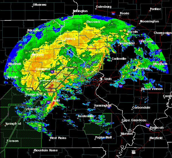 Radar Image for Severe Thunderstorms near Grafton, IL at 1/10/2020 7:57 PM CST