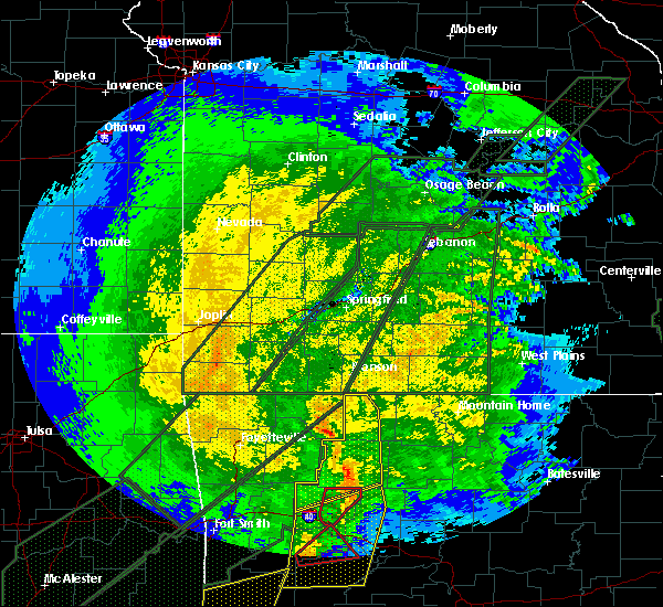 Radar Image for Severe Thunderstorms near Omaha, AR at 1/10/2020 8:35 PM CST