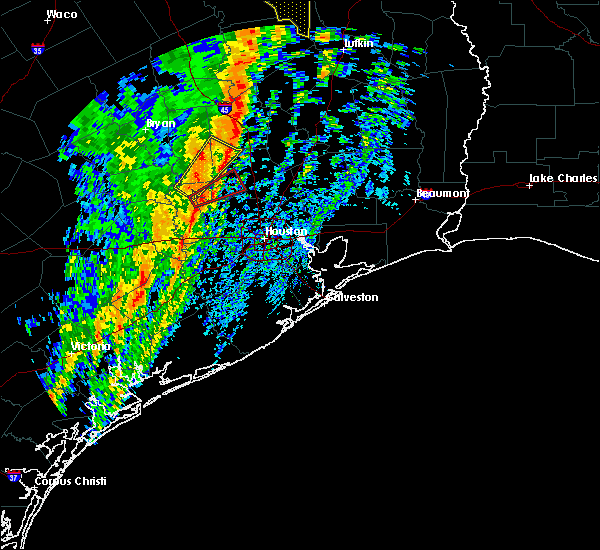 Radar Image for Severe Thunderstorms near Montgomery, TX at 1/10/2020 11:08 PM CST