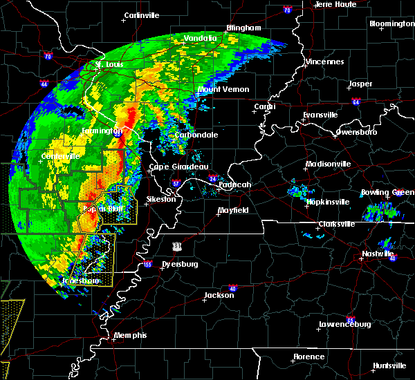 Radar Image for Severe Thunderstorms near Essex, MO at 1/11/2020 1:09 AM CST