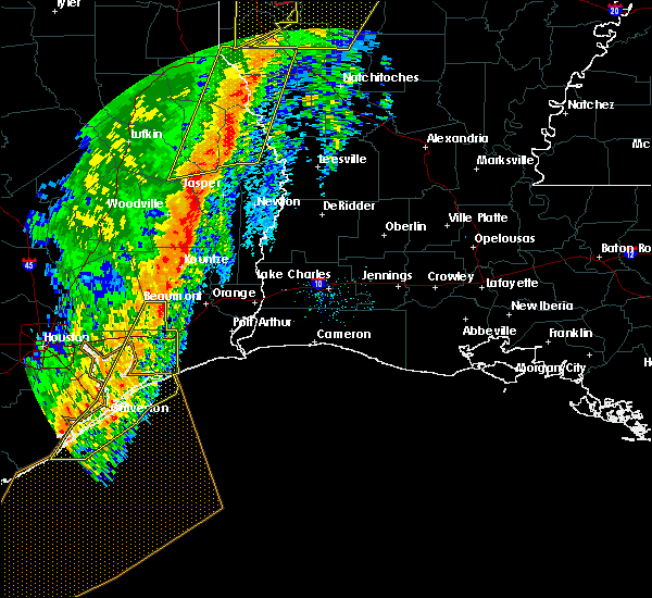Radar Image for Severe Thunderstorms near Vidor, TX at 1/11/2020 1:34 AM CST