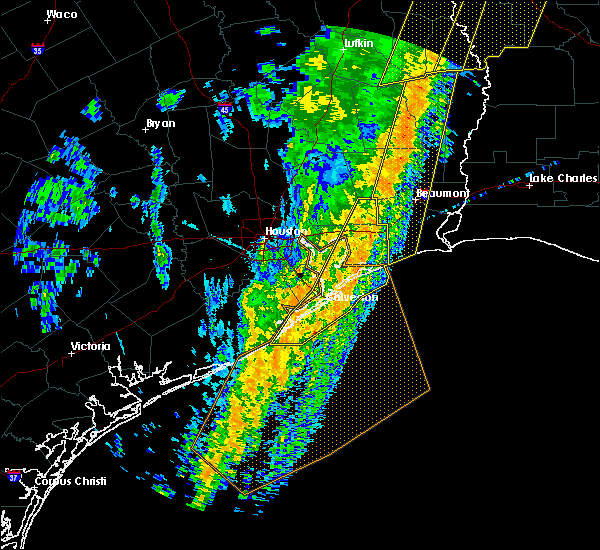 Radar Image for Severe Thunderstorms near Bolivar Peninsula, TX at 1/11/2020 1:47 AM CST