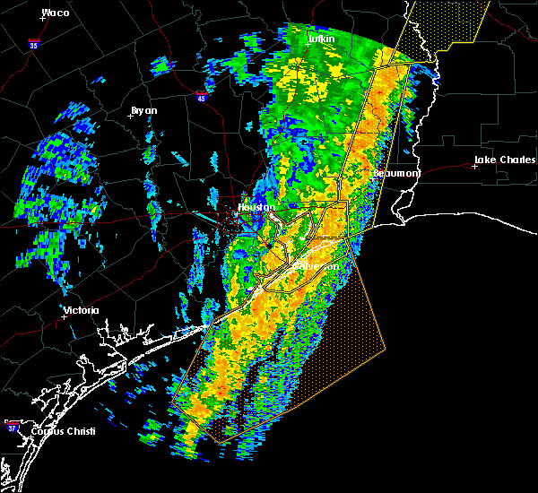 Radar Image for Severe Thunderstorms near Bolivar Peninsula, TX at 1/11/2020 1:59 AM CST